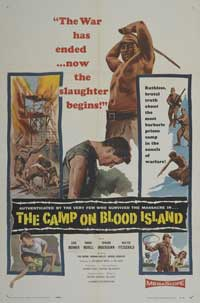 The Camp on Blood Island - 43 x 62 Movie Poster - Bus Shelter Style A