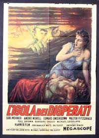 The Camp on Blood Island - 11 x 17 Movie Poster - Italian Style A