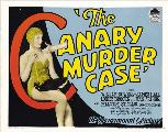 The Canary Murder Case - 27 x 40 Movie Poster - Style C