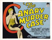 The Canary Murder Case - 11 x 17 Movie Poster - Style D