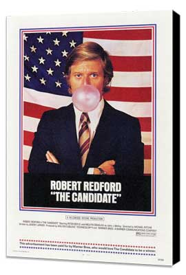 The Candidate - 27 x 40 Movie Poster - Style A - Museum Wrapped Canvas