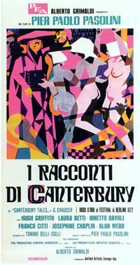 The Canterbury Tales - 20 x 40 Movie Poster - Italian Style A