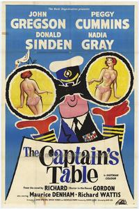 The Captain's Table - 27 x 40 Movie Poster - Style B