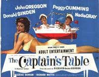The Captain's Table - 22 x 28 Movie Poster - Half Sheet Style A