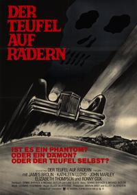 The Car - 11 x 17 Movie Poster - German Style A