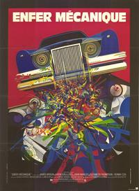 The Car - 11 x 17 Movie Poster - French Style A