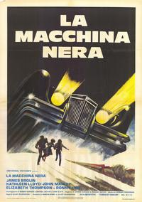 The Car - 11 x 17 Movie Poster - Italian Style A