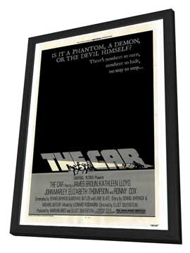 The Car - 27 x 40 Movie Poster - Style A - in Deluxe Wood Frame