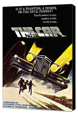 The Car - 27 x 40 Movie Poster - Style B - Museum Wrapped Canvas