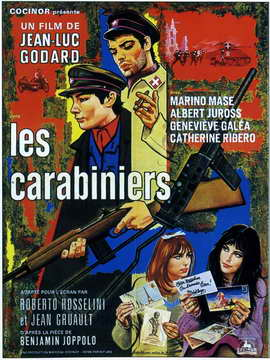 The Carabineers - 27 x 40 Movie Poster - French Style A