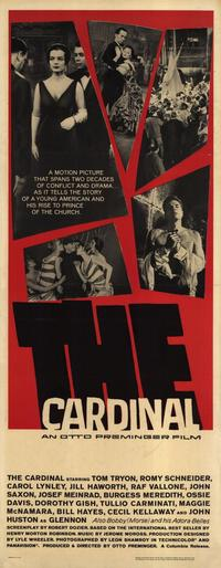 The Cardinal - 14 x 36 Movie Poster - Insert Style A
