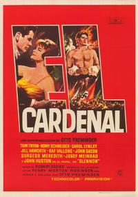 The Cardinal - 11 x 17 Movie Poster - Italian Style A