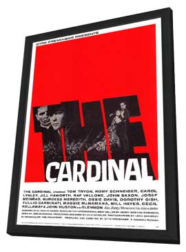 The Cardinal - 11 x 17 Movie Poster - Style A - in Deluxe Wood Frame
