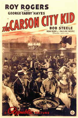 Carson City Kid - 11 x 17 Movie Poster - Style A