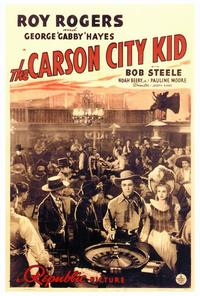 Carson City Kid - 27 x 40 Movie Poster - Style A
