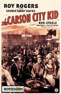 Carson City Kid - 43 x 62 Movie Poster - Bus Shelter Style A