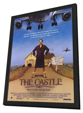 The Castle - 27 x 40 Movie Poster - Style A - in Deluxe Wood Frame