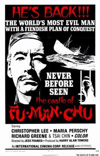 The Castle of Fu Manchu - 11 x 17 Movie Poster - Style A