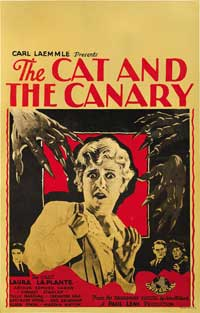 The Cat and the Canary - 27 x 40 Movie Poster - Style A