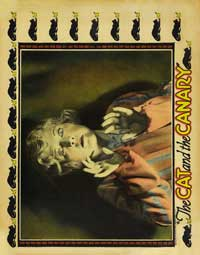 The Cat and the Canary - 27 x 40 Movie Poster - Style B
