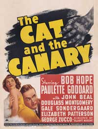 The Cat and the Canary - 11 x 17 Movie Poster - Style C