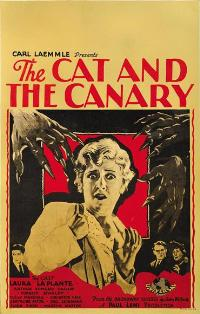 The Cat and the Canary - 11 x 17 Movie Poster - Style F