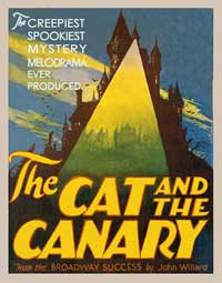 The Cat and the Canary - 11 x 17 Movie Poster - Style G