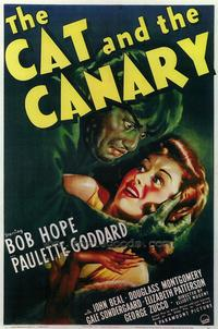 The Cat and the Canary - 43 x 62 Movie Poster - Bus Shelter Style A