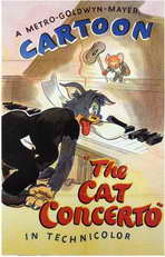 The Cat Concerto - 27 x 40 Movie Poster - Style A