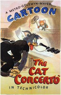 The Cat Concerto - 43 x 62 Movie Poster - Bus Shelter Style A