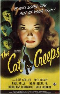 The Cat Creeps - 11 x 17 Movie Poster - Style A