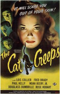 The Cat Creeps - 43 x 62 Movie Poster - Bus Shelter Style A