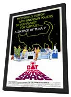 The Cat from Outer Space - 11 x 17 Movie Poster - Style A - in Deluxe Wood Frame