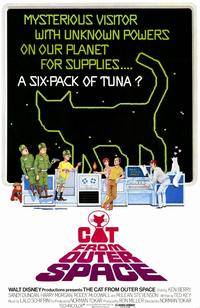 The Cat from Outer Space - 11 x 17 Movie Poster - Style A