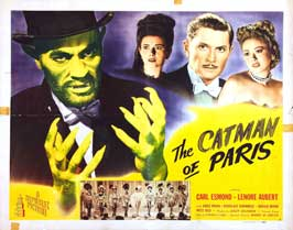 The Catman of Paris - 11 x 14 Movie Poster - Style A