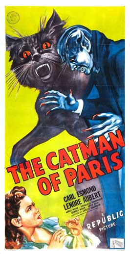 The Catman of Paris - 20 x 40 Movie Poster - Style A