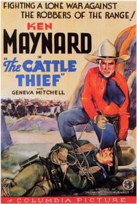 The Cattle Thief - 27 x 40 Movie Poster - Style A