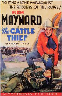 The Cattle Thief - 43 x 62 Movie Poster - Bus Shelter Style A