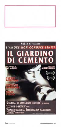 The Cement Garden - 13 x 28 Movie Poster - Italian Style A