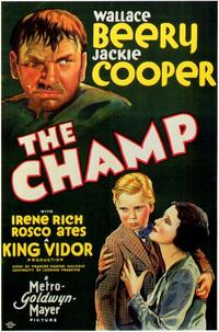 The Champ - 43 x 62 Movie Poster - Bus Shelter Style A