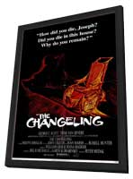 The Changeling - 11 x 17 Movie Poster - Style A - in Deluxe Wood Frame