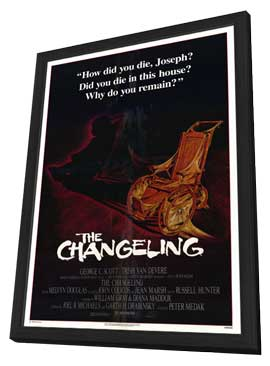 The Changeling - 27 x 40 Movie Poster - Style A - in Deluxe Wood Frame