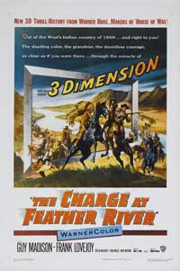 The Charge at Feather River - 11 x 17 Movie Poster - Style A