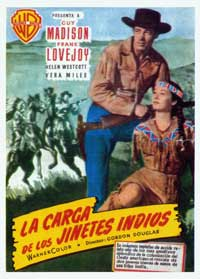 The Charge at Feather River - 27 x 40 Movie Poster - Spanish Style A