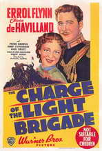 The Charge of the Light Brigade - 27 x 40 Movie Poster - Style B