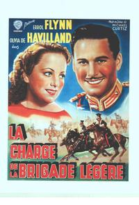 The Charge of the Light Brigade - 11 x 17 Movie Poster - Belgian Style A