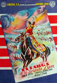 The Charge of the Light Brigade - 11 x 17 Movie Poster - French Style B