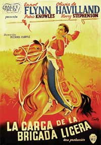 The Charge of the Light Brigade - 11 x 17 Movie Poster - French Style F