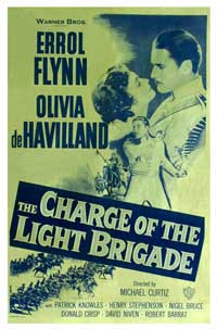 The Charge of the Light Brigade - 11 x 17 Movie Poster - Style E
