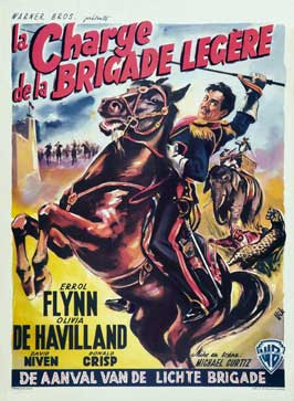 The Charge of the Light Brigade - 27 x 40 Movie Poster - Belgian Style B